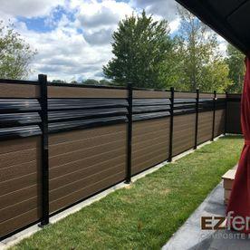 clôture en composite